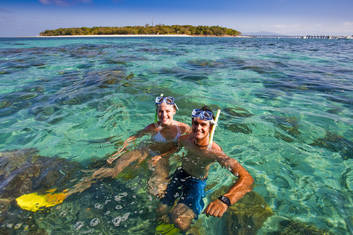 Snorkelling at Green Island