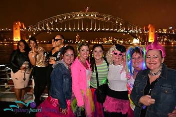 """Strictly 80's"" Sydney Harbour Dinner Cruise $45 p.p inc. Buffet and Complimentary Champagne Cocktail"